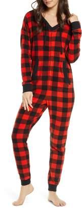BP Microfleece Hooded Jumpsuit Pajamas