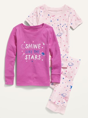 Old Navy Unisex 3-Piece Graphic Pajama Set for Toddler & Baby