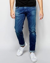Replay Jeans Anbass Slim Fit Superstretch Ecoplus Mid Wash