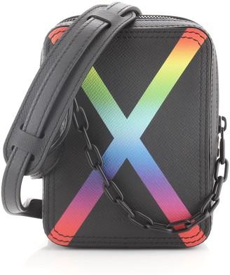 Louis Vuitton Danube Messenger Bag Rainbow Taiga Leather
