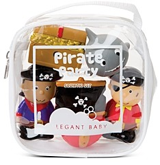 Elegant Baby Boys' 5-Piece Pirate Party Squirters Bath Toys, Baby - Ages 6 months+