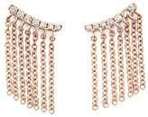 Bloomingdale's Diamond Ear Climbers with Fringe in 14K Rose Gold, .15 ct. t.w.
