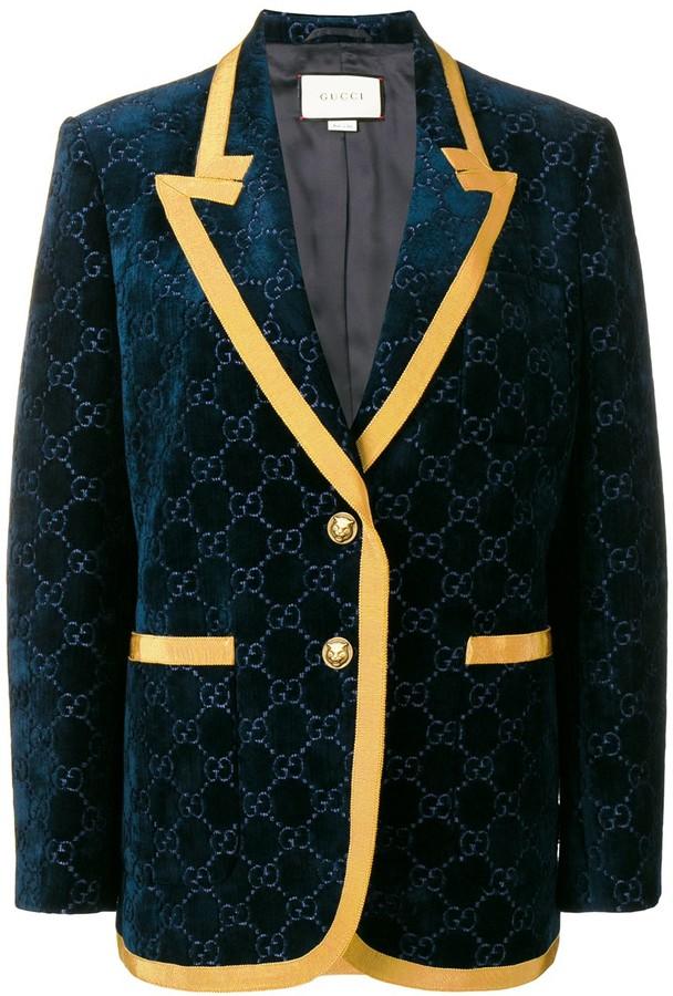 Gucci velvet style blazer