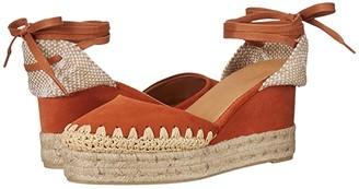 Castaner Cavan 60 Wedge Espadrille (Terracota) Women's Shoes
