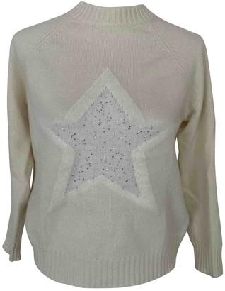 Lorena Antoniazzi Ecru Wool Knitwear