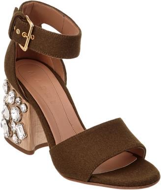Marni Wool Sandal