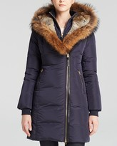 Mackage Fur-Trimmed Trish Down Coat