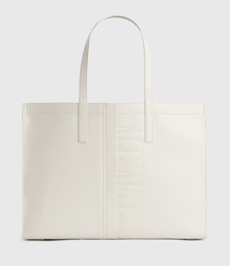AllSaints Rochelle East West Leather Tote Bag