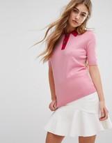Tommy Hilfiger Retro Knit Polo T-Shirt