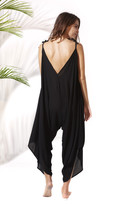 Poema Swim - Bahama Jumpsuit: Black