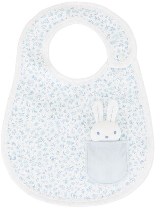 Familiar Rabbit Patch Bib