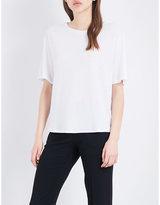 Theory Eligia cotton-blend T-shirt