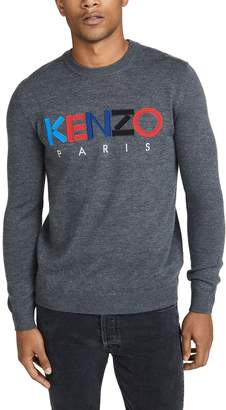 Kenzo Paris Merino Crew Neck Sweater