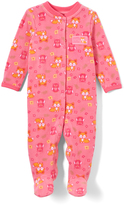 Buster Brown Orchid Pink Fox 'Little Cutie' Footie - Infant