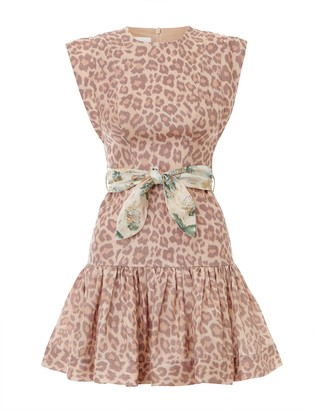 Zimmermann Kirra Flounce Short Dress