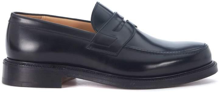 Church's Staden Black Leather Loafer