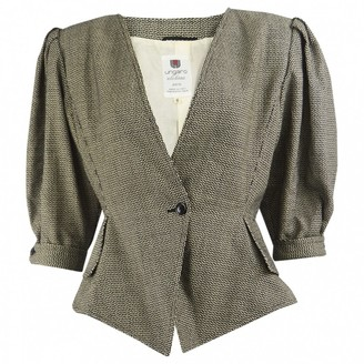 Ungaro Multicolour Wool Jacket for Women Vintage