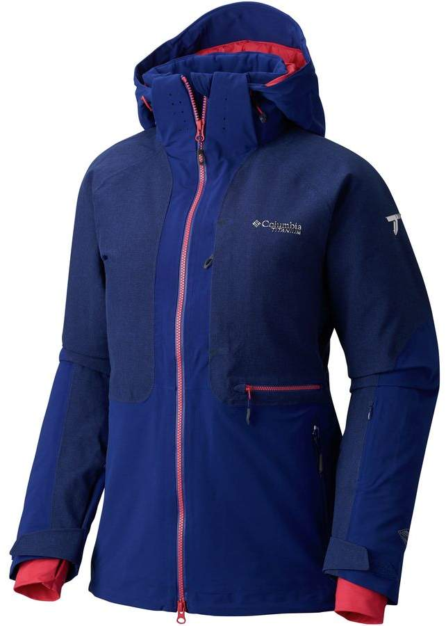 Columbia Titanium Powder Keg Hooded Down Jacket - Women's