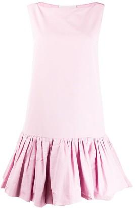 Valentino Ruffle Hem Dress