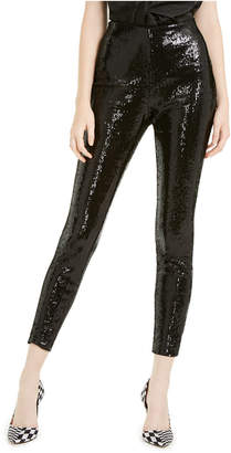 INC International Concepts Inc Sequined Skinny Ankle Pants