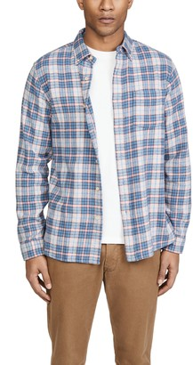 Alex Mill Plaid Flannel Button Down Shirt