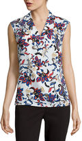 Liz Claiborne Sleeveless Shell Blouse - Tall