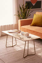 DENY Designs Chelsea Victoria For Deny Marble Coffee Table
