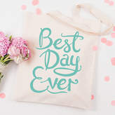 N. Alphabet Bags 'Best Day Ever' Tote Bag