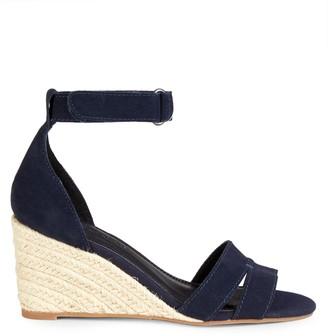 Splendid Miner Suede Espadrille Wedge Sandals