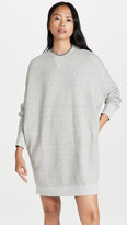 Thumbnail for your product : R 13 Grunge Sweatshirt Dress