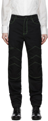 Palomo Spain Black Twill Arthur Jeans