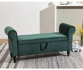 Wickline Upholstered Flip Top Storage Bench Rosdorf Park