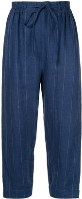 Karen Walker Beck straight-leg trousers