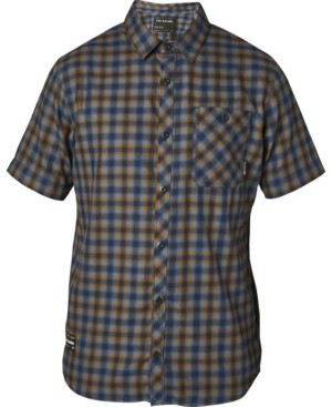 Fox Men's Good Trouble Yarn-Dyed Plaid Twill Shirt