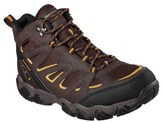 Skechers Men's Blais Celek Memory Foam Waterproof Lace Up Boot