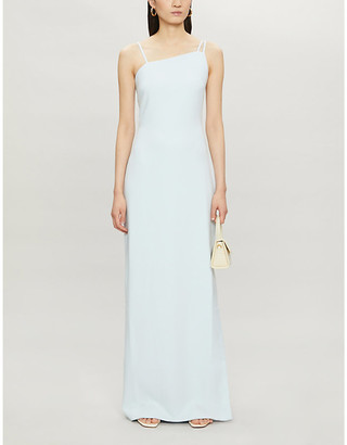 Ted Baker Strap-detail stretch-crepe maxi dress