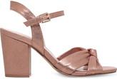 Nine West Starrynight peep-toe metallic sandals