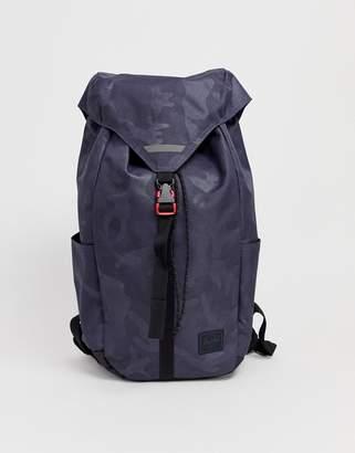Herschel Thompson backpack in tonal camo print 17l-Grey