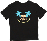 Rip Curl Tots Boys Smiley Tee Black