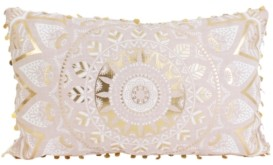 Thro 12x20 Mindy Medallion Pillow in Pink