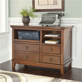 Signature Design by Ashley Burksville Home Office Cabinet