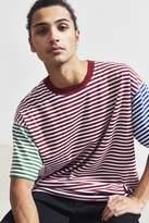 Urban Outfitters Stripe Tri Block Tee