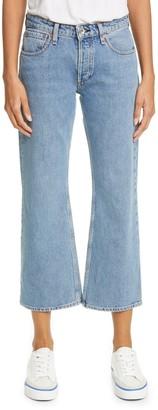 Rag & Bone Rosa High Waisted Wide Leg Jeans