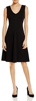 Lysse Ponte Fit-and-Flare Dress