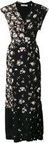 Golden Goose Deluxe Brand long patchwork dress - women - Silk/Acetate - S