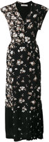 Golden Goose Deluxe Brand long patchwork dress - women - Silk/Acetate - XS