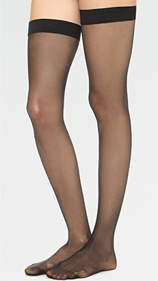 Wolford Individual 10 Stay Up Tights