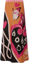 Temperley London Galaxy Knit Skirt