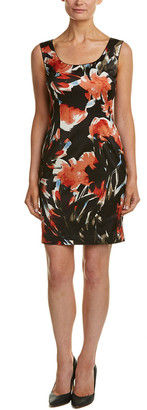 Lafayette 148 New York Petite Rebecca Sheath Dress