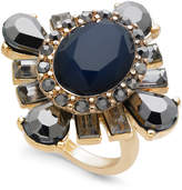 INC International Concepts I.N.C. Gold-Tone Stone Statement Ring, Created for Macy's